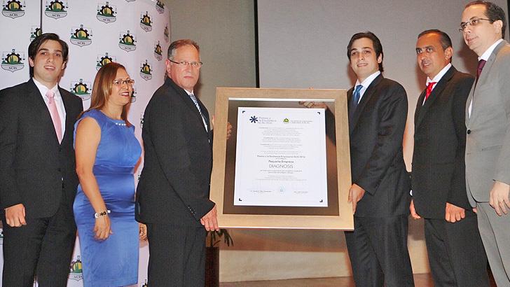 Diagnosis Galardonada Con El 7mo Premio A La Excelencia Empresarial ACIS 2016