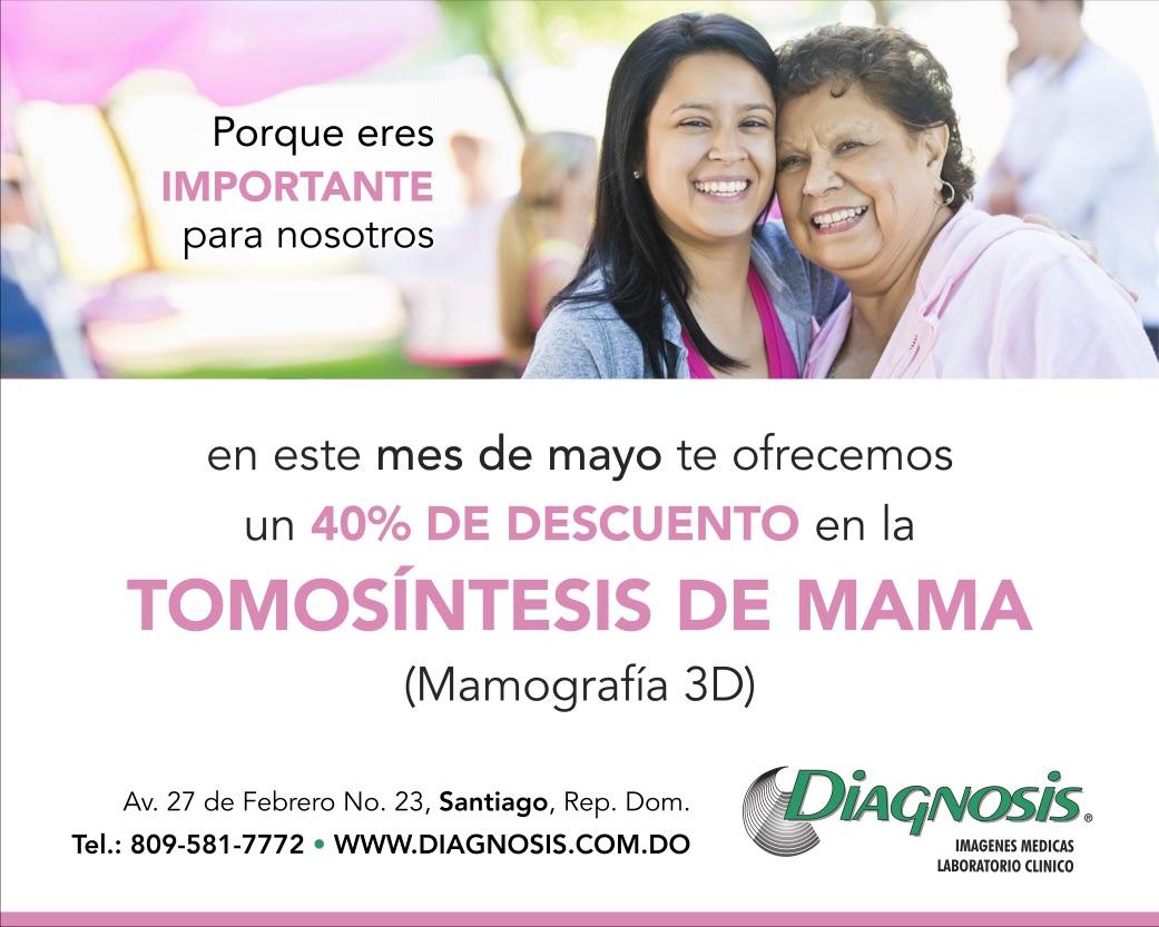 Oferta Mes De Mayo, Tomosíntesis (Mamografía 3D)